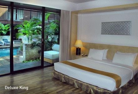 Le Grande Bali - Deluxe Room Terrace Basic Deal Discount 23%