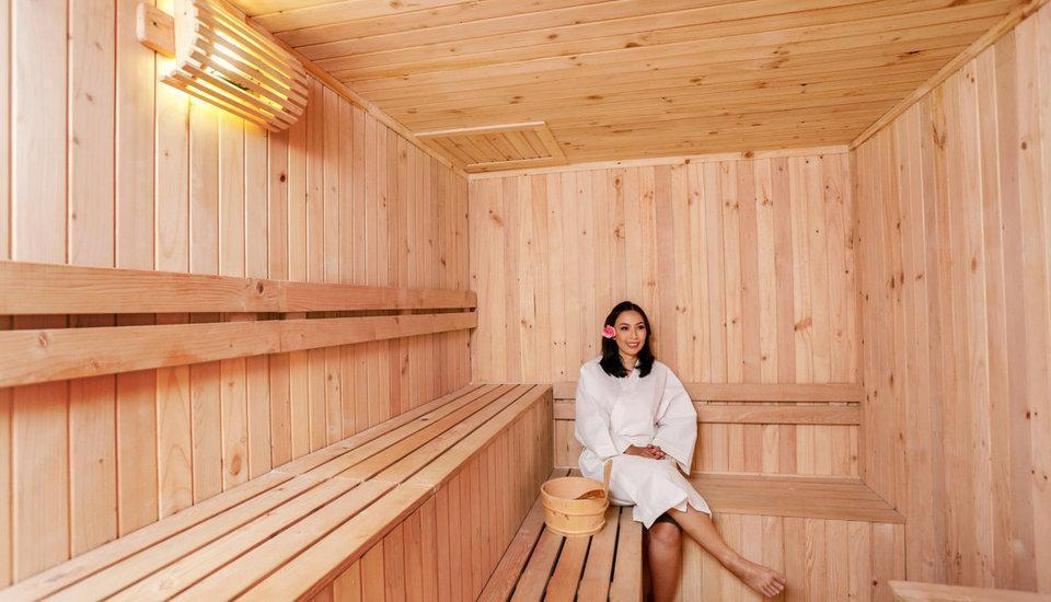 Grand HAP Hotel Solo - Sauna