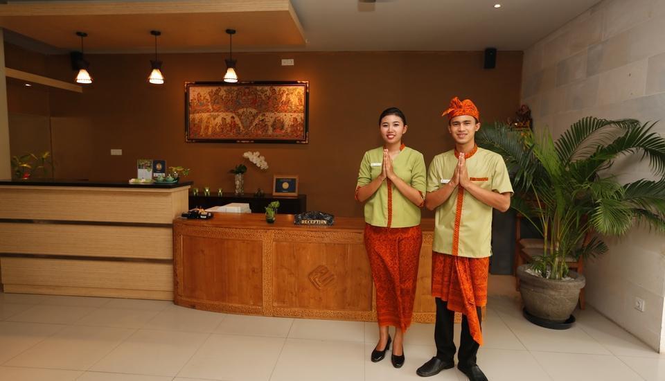 Equity Jimbaran Resort And Villa Bali - RECEPTIONIST
