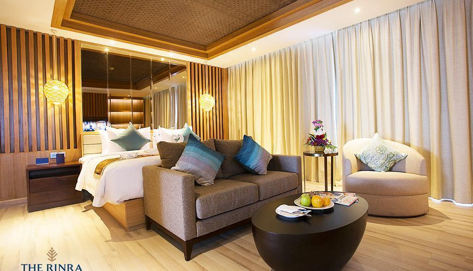 The Rinra Makassar - Pavilion Suite  Regular Plan