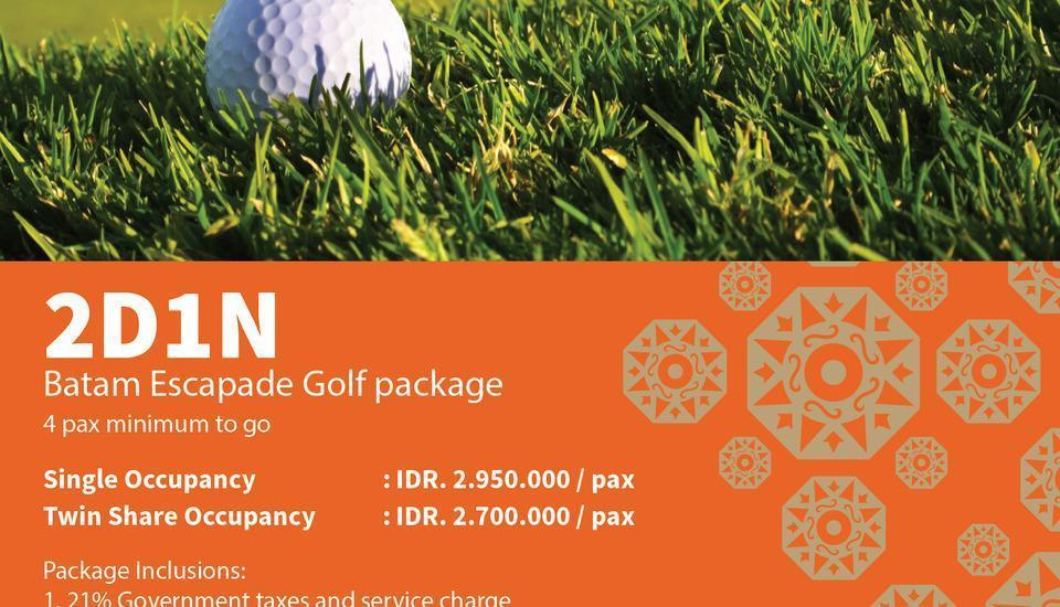 Sahid Batam Centre Hotel & Convention Batam - 2D1N Golf Package