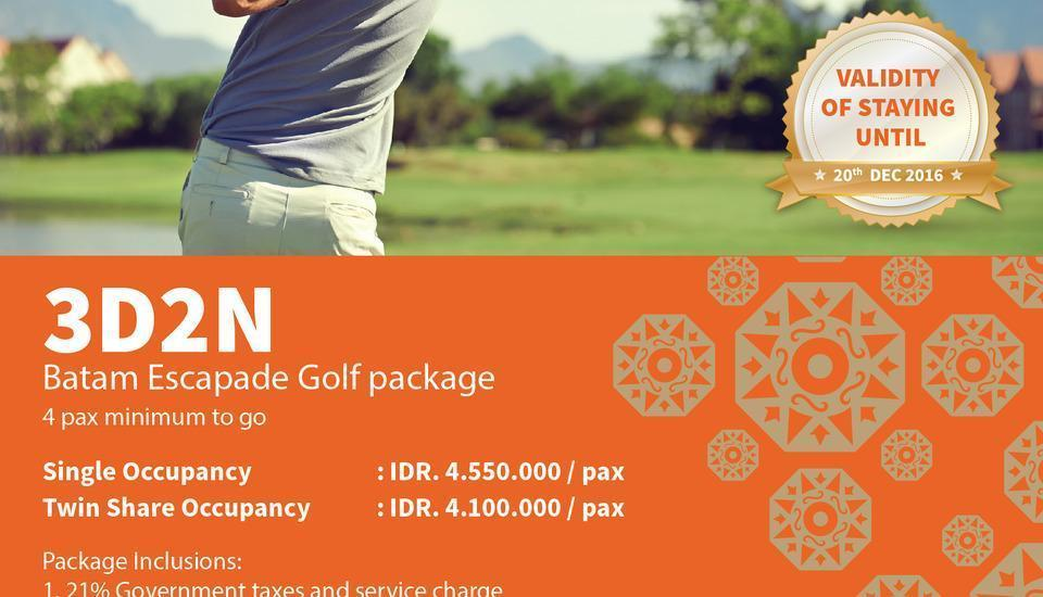 Sahid Batam Centre Hotel & Convention Batam - 3D2N Golf Package