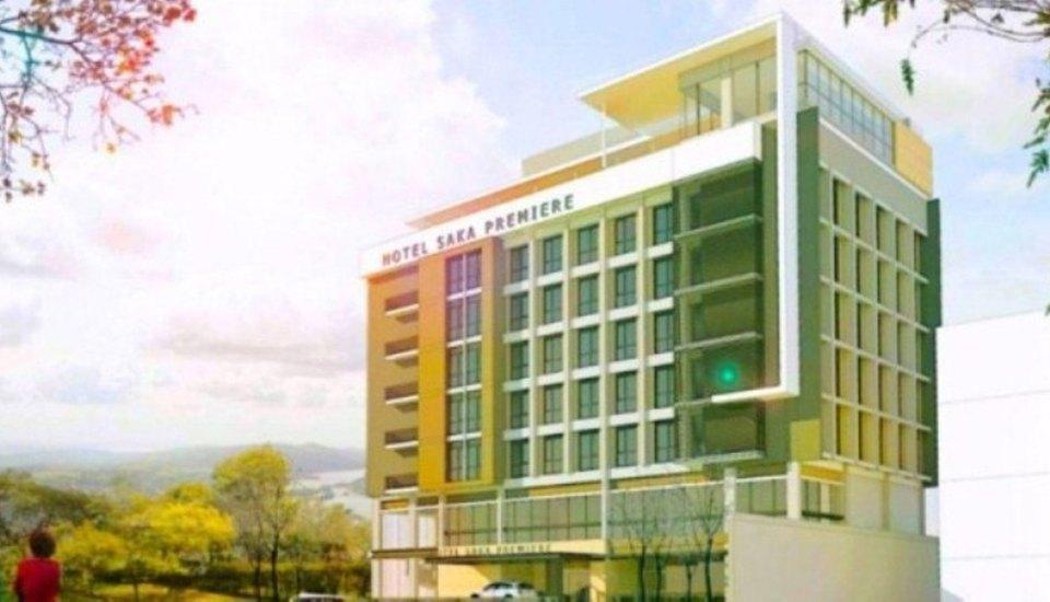 Saka Hotel Premiere Medan - BUilding
