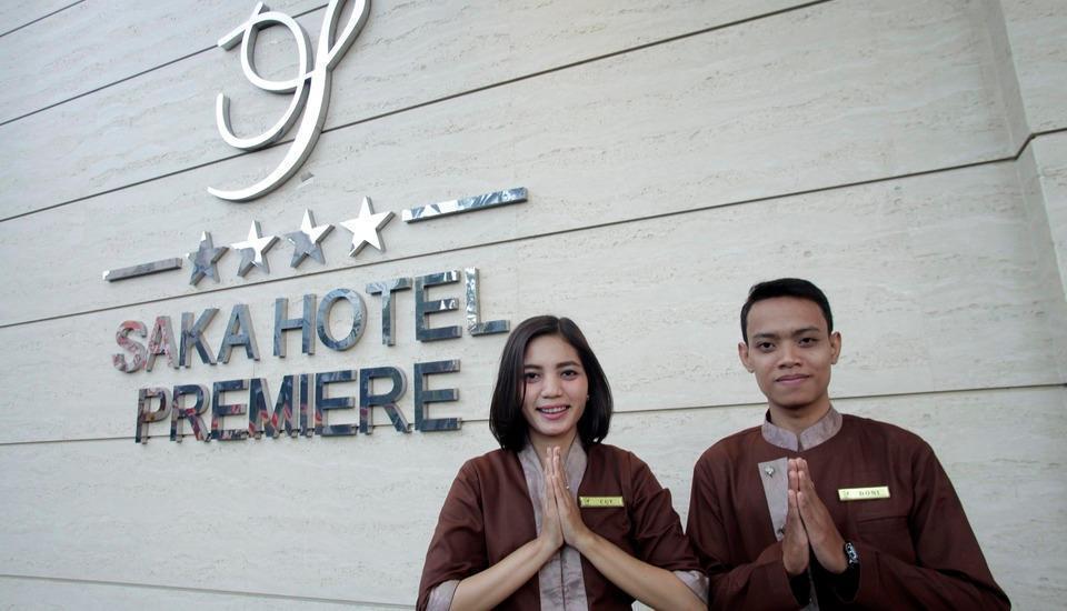Saka Hotel Premiere Medan - Lobi
