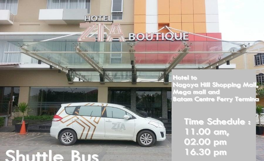 Zia Boutique Hotel Batam - Antar-Jemput