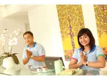 Home @36 Condotel Bali - Meja depan