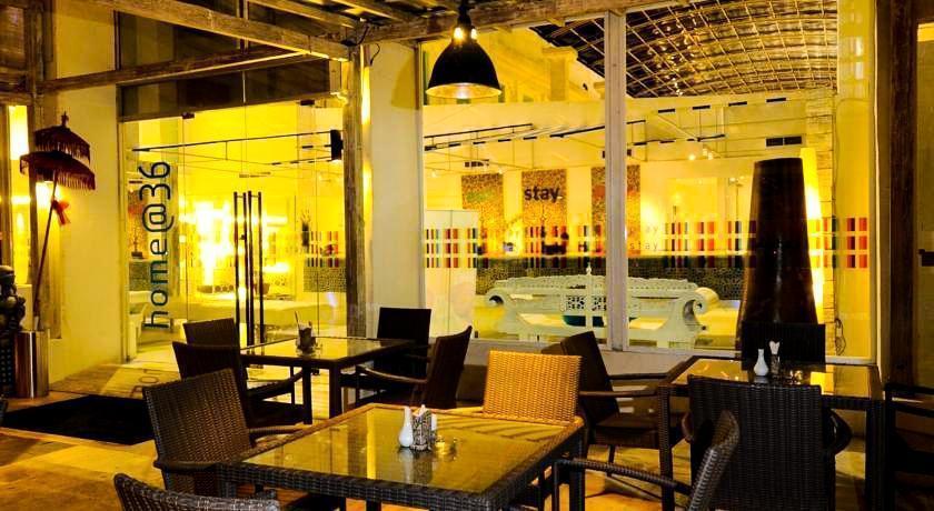 Home @36 Condotel Bali -  Restoran