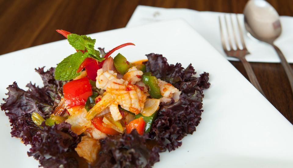 Grand Edge Hotel Semarang - Seafood Saus Bangkok