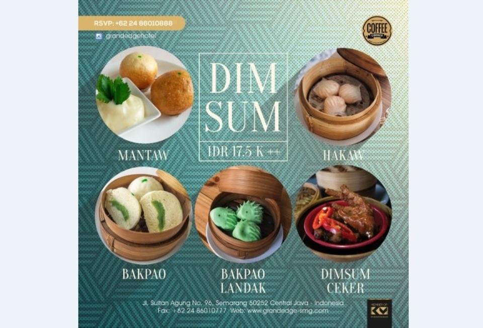 Grand Edge Hotel Semarang - Dimsum