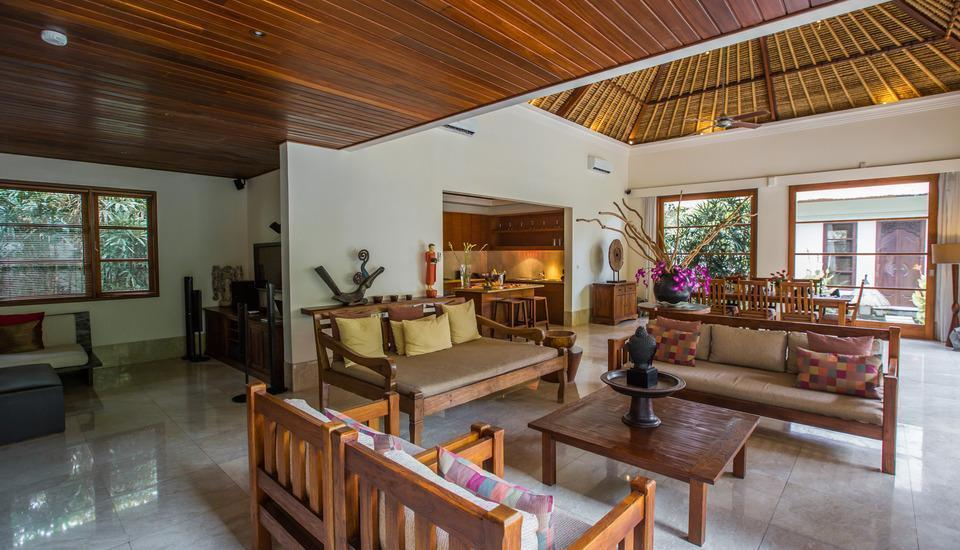 Karma Jimbaran Bali - 3 Bedroom Pool Villa Living room