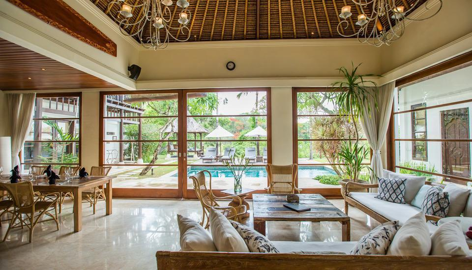 Karma Jimbaran Bali - 4 Bedroom Pool Villa Living room