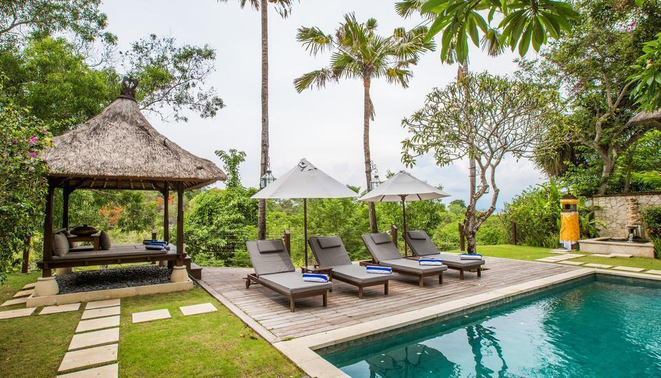 Karma Jimbaran Bali - 4 Bedroom Pool Villa View