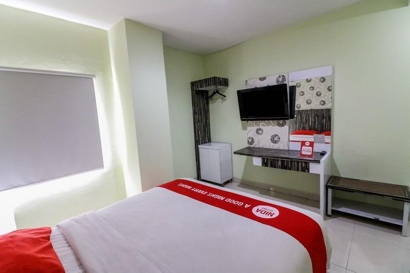 NIDA Rooms Airport Mall Makassar - Double Room Double Occupancy NIDA Fantastic Promo