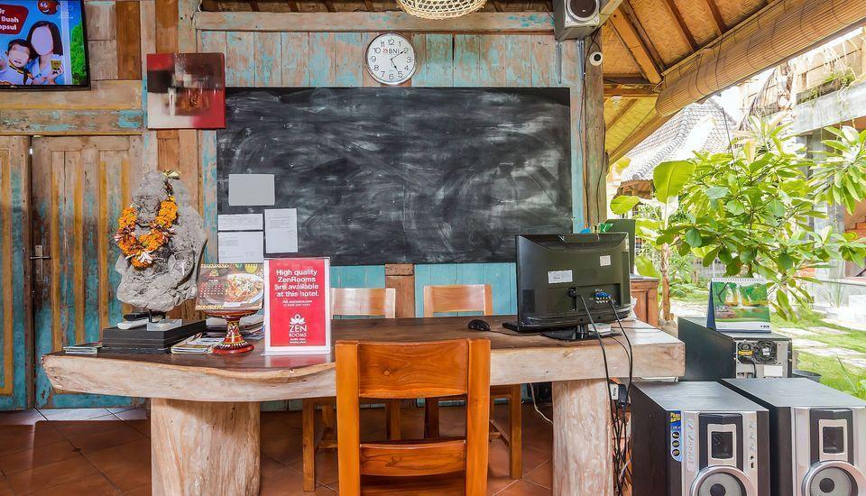 ZenRooms Tukad Badung Renon Bali - Resepsionis