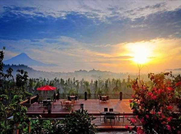 Plataran Borobudur Magelang - Borobudur View