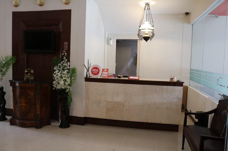 NIDA Rooms Gatot Subroto Bandung - Resepsionis