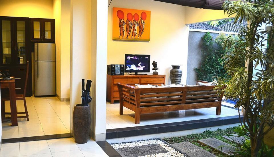 Villa Madhya Bali - Living room