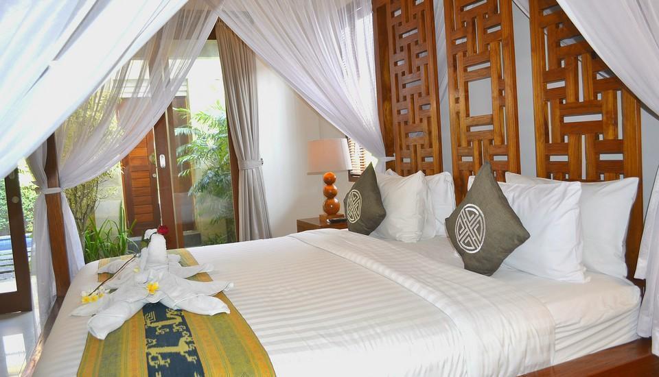 Villa Madhya Bali - Kamar tidur