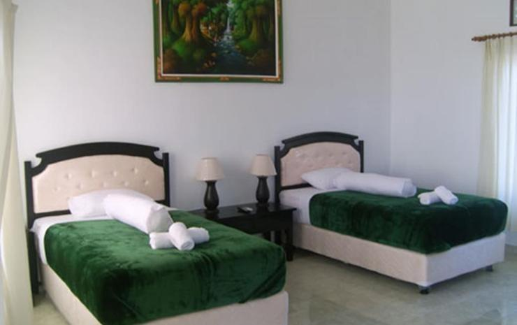 Scooby Doo Beach Bungalow Bali - Standard Twin Room Regular Plan