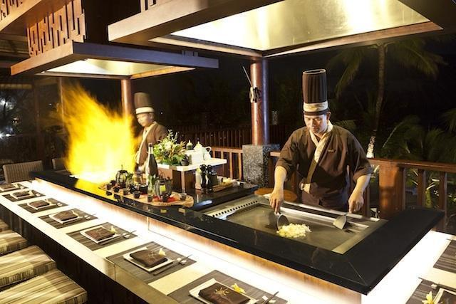 Legian Beach Hotel Bali - Restaurant Yuyake Teppanyaki