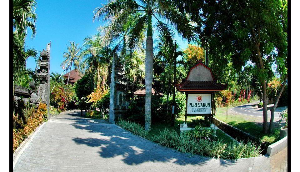 Hotel Puri Saron Senggigi - Jalan Masuk
