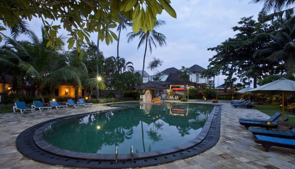 Hotel Puri Saron Senggigi - kolam renang