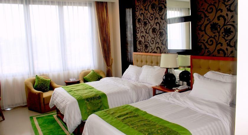 Gran Surya Hotel Bali - Deluxe Room Twin Regular Plan