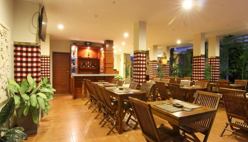 Manggar Indonesia Hotel Bali - Ruangan Sarapan