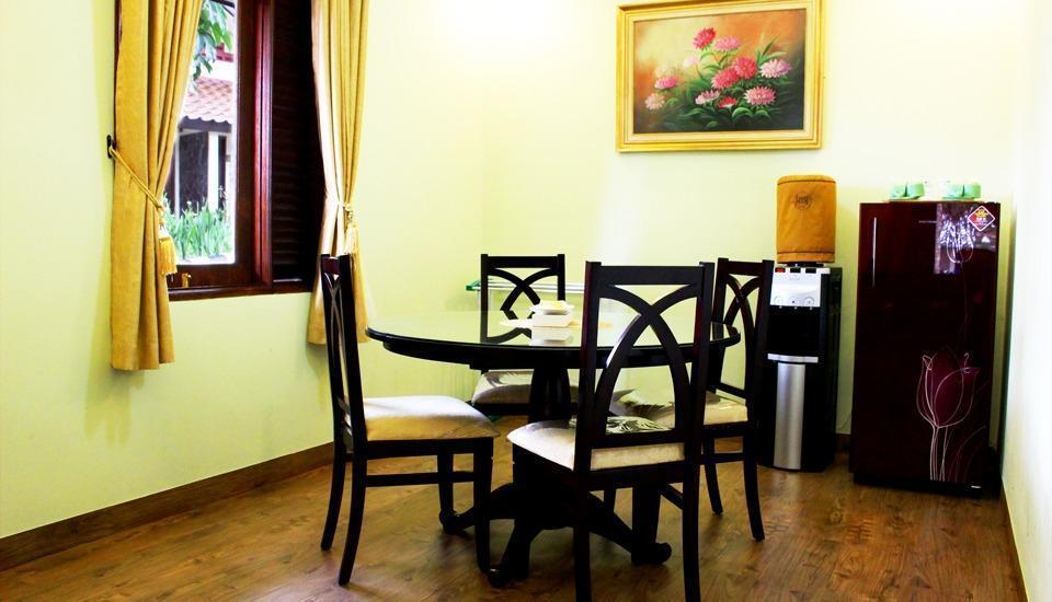 Sangga Buana Hotel Cianjur - ruang makan bungalow