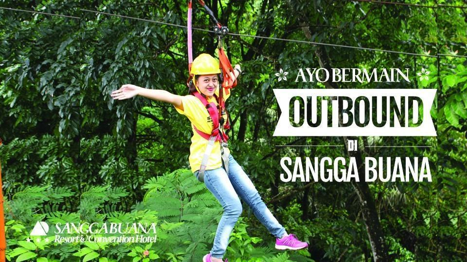 Sangga Buana Hotel Cianjur - flying fox