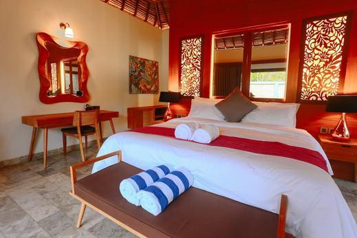 A Villa Gili Air Lombok - Guestroom