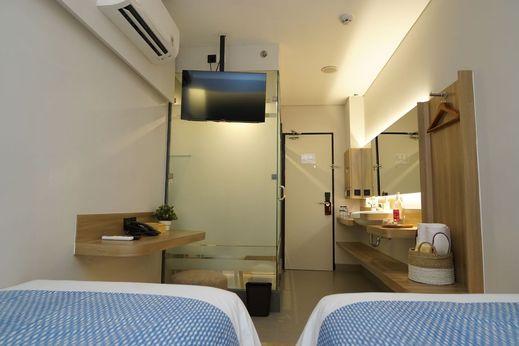 Qubika Boutique Hotel Tangerang - Bedroom