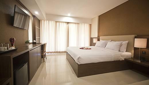 Arena Living Bali - Kamar Deluxe - Tempat tidur double