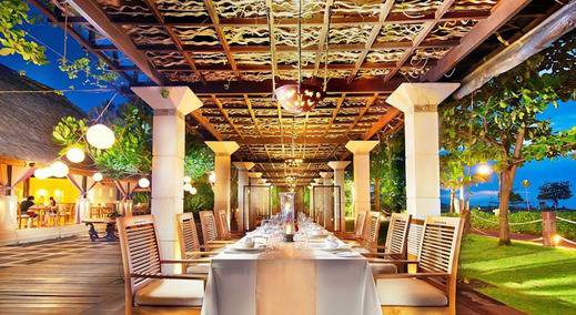 The Sandi Phala Resort Bali - Restoran