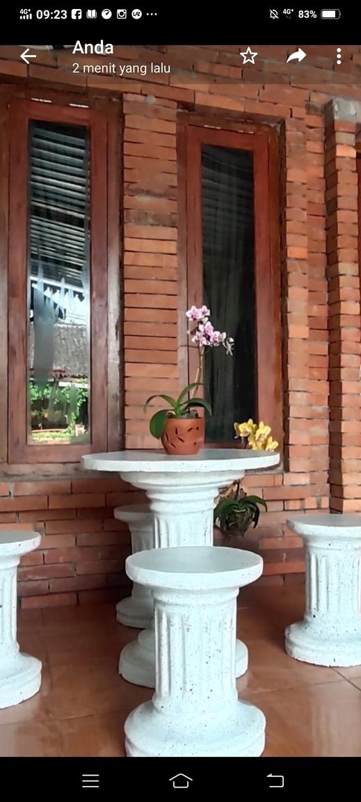 Geisra Guest House Magelang - TERAS