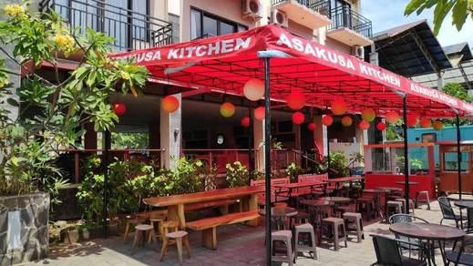 Aromas Hotel Bali - Outdoor Dining