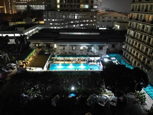 Hotel Inna Dharma Deli Medan - Kolam Renang Air Asin