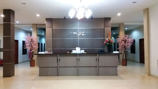 Grand Sakura Hotel & Restaurant Palangka Raya - Reception