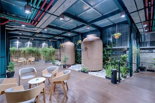 Hotel Kuretakeso Kemang Jakarta - Smoking area