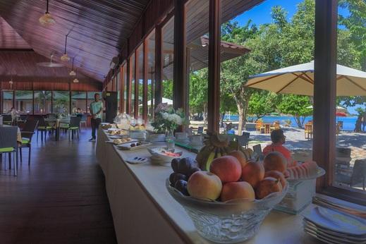 Sylvia Resort Komodo Manggarai Barat - Restoran