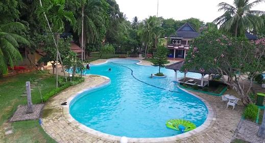 Mutiara Carita Cottages Serang - Swimming Pool