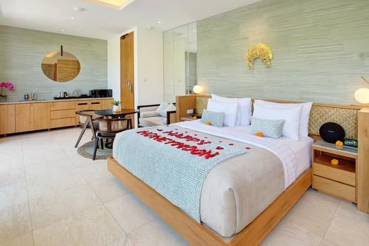 Astera Villa Seminyak Bali - Kamar tidur