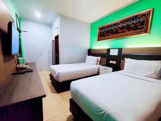 Queen Guest House Bengkulu - deluxe twin
