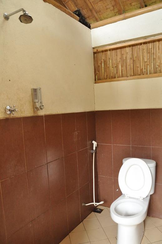ArusLiar Nusa Traditional Cottage Sukabumi - Bathroom