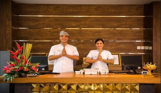 Tony's Villa Bali - Reception