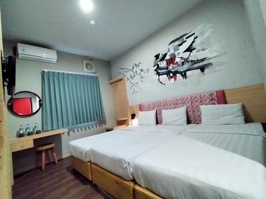 Hotel Pantes Pecinan Semarang Semarang - Kamar keluarga