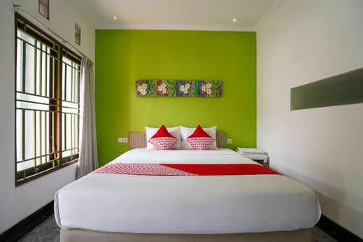OYO 1406 I Love Grass Bali - Bedroom