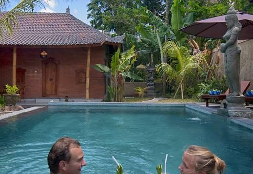 Pajar House Ubud Bali - renang di pajar house ubud