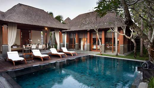 Kayana Seminyak - Two Bedroom Villa - Pool Area