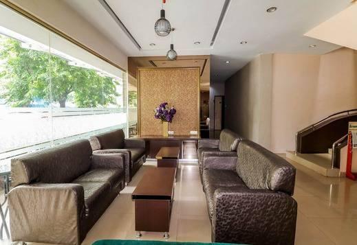 NIDA Rooms Pekan Raya Carrefour Medan - Ruang tamu
